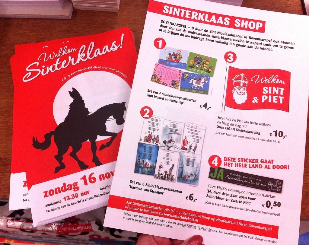 Sinterklaas Shop 2014